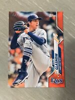 2020 Topps On Demand Mini Tyler Glasnow Red Parallel Card #'d 4/5 Rays