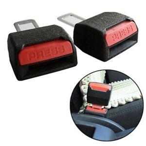 4X Car Seat Safety Belt Extender Extension Buckle Clip Plug Car Safety Seatbelt