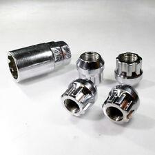 Bloqueo de Aleación Tuercas de Rueda M12 X 1.25 Lug Pernos Cónicos Para Ford Focus 1 Cmax 2 3
