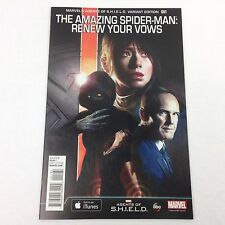 Amazing Spider-Man Renew Your Vows 1:15 Variant Agents of SHIELD Marvel Comics