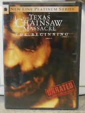 The Texas Chainsaw Massacre: The Beginning (DVD, 2007, Unrated) RARE BRAND NEW