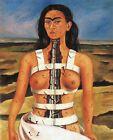 Print - The Broken Column, 1944 by Frida Kahlo
