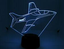 Avanti S RC EDF Airplane 3D Acrylic Light with Extras