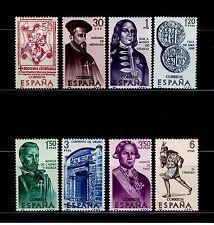 ESPAÑA 1966 1750/7 Forjadores 8v.