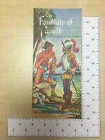 Vintage Travel Brochure The Fountain of Youth Juan Ponce De Leon St Augustine