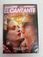 EL CANTANTE (DVD, 2007) DRAMA Jennifer Lopez Marc Anthony SEALED NEW DC35