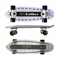 Cool! Light up Led Skateboard - Minicruiser Desire by Z.altbee - 26 Led's!