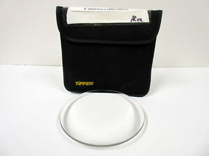"""Tiffen 6"""" Round Diopter +2 Unmounted Close-up Plus 2 Filter"""
