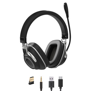 Professional Binaural Active Noise Cancelling Wireless Bluetooth | USB Headset