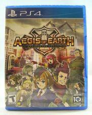 Aegis of Earth: Protonovus Assault (Sony PlayStation 4, 2016) New !