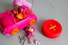 Lalaloopsy Mini Playset Sew Cute RC Cruiser Remote Control Car  3 Dolls   Lot K8