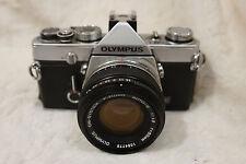 OLYMPUS OM-1  Classic SLR Camera.  ZUIKO AUTO-S 1:1.8 F=50mm Lens. om1