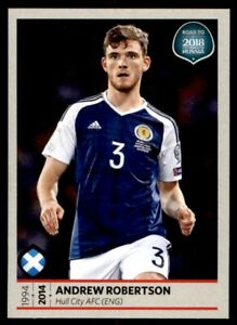 Road to 2018 World Cup (UK Version) - Andrew Robertson (Scotland) No. 518