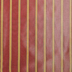 P/Kaufmann–Tamni Stripe/Maroon (1 yds)   Iridescent Corded Awning Stripe Fabric