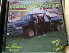 Leonel El Ranchero y Almikar El Casador Voces Del Rancho CD New Nuevo