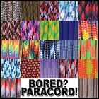 550 Paracord Rope Mil-Spec Type III 7 strand parachute cord 25 50 100 ft