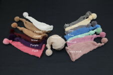 So Soft Newborn Slouch Sleepy Hat with pom pom, newborn baby knit photo prop