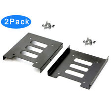 "RIITOP 2.5"" SSD to 3.5 inch HDD Storage Bay Adapter Metal Bracket (2Pack)"