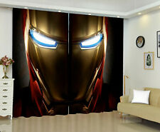 The Avenger Iron Man 1 Panel Window Panels 3DPrint Window Curtains Bedroom Drape