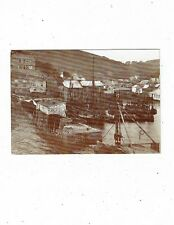 CORNISH POST CARD A COUNTY MUSEUM CARD No19 OF POLPERRO c. 1900