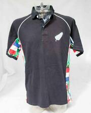 Mens Cotton Traders New Zealand All Black World Cup Tea Shirt Size large Lot A16