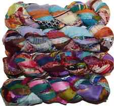 FREE S&H  100 gr Sari Chiffon Blend2 multi craft ribbon yarn, jewelry making
