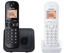 Telefono Cordless Duo Panasonic 2 Telefoni con Base Nero + Bianco KX-TGC212JT1