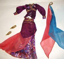 Barbie Ensemble Patterned Skirt Costume For Barbie Dolls hf00