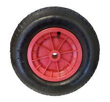 """RED 4.80 / 4.00 - 8  ( 16"""" )  WHEELBARROW WHEEL TYRE INNER TUBE, INNERTUBE"""