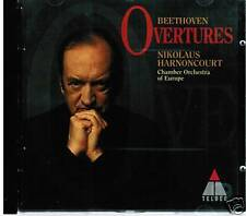CD BEETHOVEN OVERTURES NIKOLAUS HARNONCOURT CHAMBER ORCHESTRA OF EUROPE