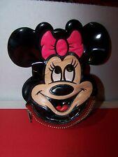 RARE! Vintage Disney Minnie Mouse Coin Purse Used Disneyland Resort 1970's