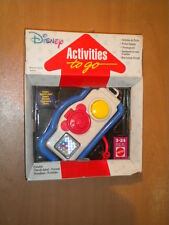 Vintage 1992 Mattel Baby Disney Mickey Mouse Activities To Go Camera Toy Mib