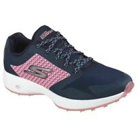 Skechers Womens Go Golf Eagle-Lead Spikeless Golf Shoe Navy/Pink sizes 5.5 6