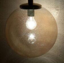 70er Jahre Lampe 70s SpaceAge Doria BubbleLampe Lamp alte Lampe E27 Glas Vintage