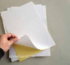 50sheets A4 White Glossy Printable Self Adhesive Label Sticker Printer Paper