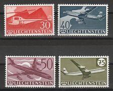 v1269 Liechtenstein/ Flugzeuge  MiNr 391/94 **