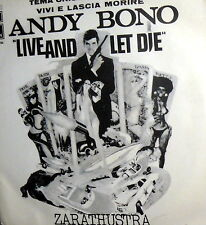 "OST - 007 vivi e lascia morire 7"" LIVE AND LET DIE ( McCARTNEY ) PS  ITALY '73"