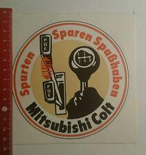 Autocollant/sticker: Mitsubishi Colt estimions économiser amusement (251016169)