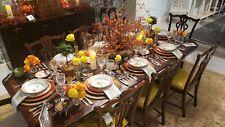 Alden Parkes - Chippendale Mahogany 7 Piece Dining Set - 10 ft Table