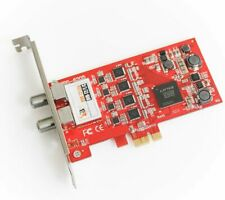 TBS 6205 QUAD FREEVIEW DVB-T2/T/C Terrestrial / Cable Quad TV Tuner PCIe Card