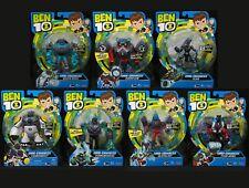 NEW All 7 OMNI-ENHANCED Ben 10 Figures Lot SHOCK ROCK Overflow XLR8 Cannonbolt