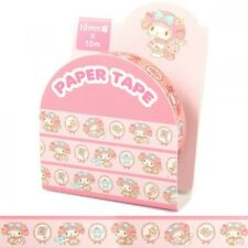 My Melody  Paper Masking Seal Roll Tape Sticker Stationary Sanrio Japan O1038