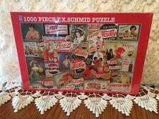F.X. Schmid Pepsi Memories 1000 Piece Puzzle 26 X 17 Factory Sealed Vintage