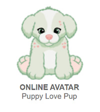 Webkinz Classic Puppy Love Pup *Code Only*