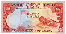 **   SAMOA     5  tala   2002   p-33a    UNC   **