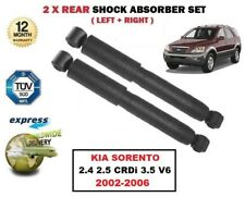 FOR KIA SORENTO 2.4 2.5 CRDi 3.5 V6 2002-2006 2x REAR SHOCK ABSORBER SHOCKER SET