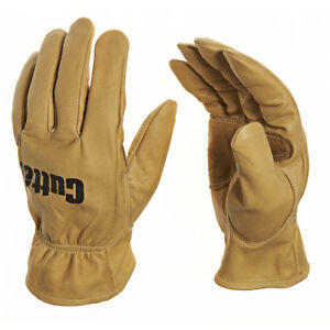 1 Pair Cutter Water Hydrophobic Repellent Gloves Leather Wet Working (CW300)