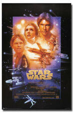 """Star Wars Episode IV Poster A New Hope 4 Wall Art Gift Movie 22"""" x 34"""""""
