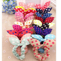 10X Lots Cute Girl Kids Tiny Hair Bands Elastic Tie Ponytail Holder Scrunchies