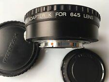 Pentax Adapter K for 645 mount lens (645 to K mount)